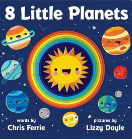 Sourcebooks 8 Little Planets Board Book