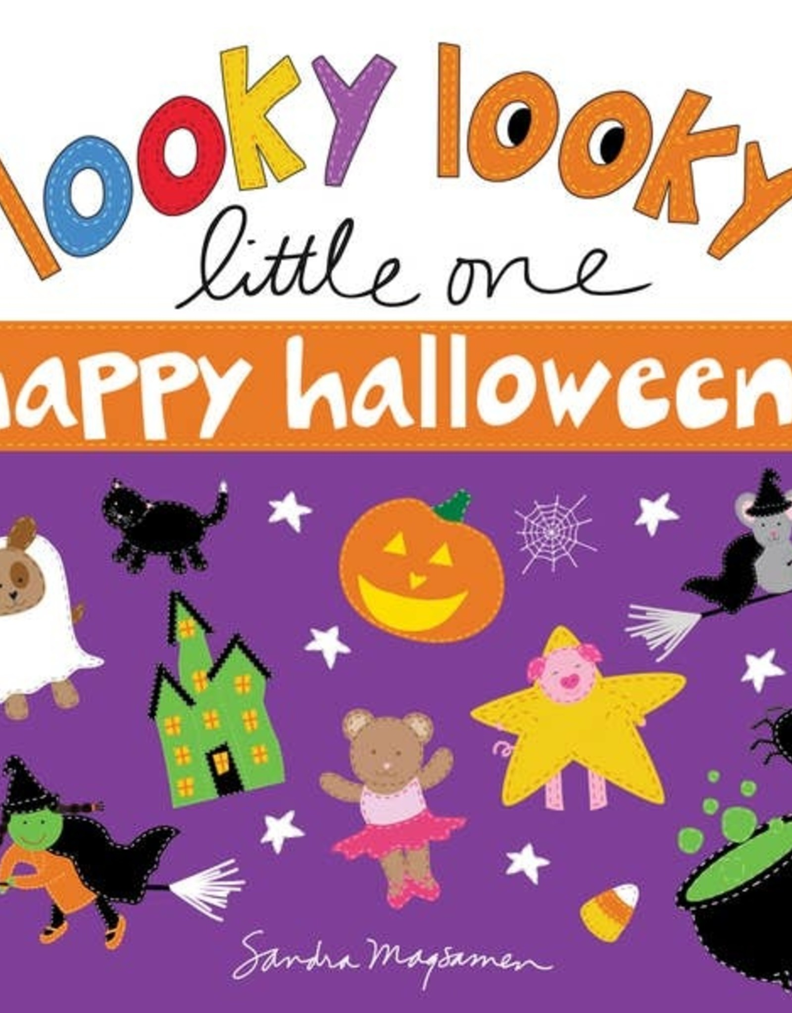 Sourcebooks Looky Looky Little One Happy Halloween Board Book
