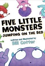 Sourcebooks Five Little Monsters Board Book