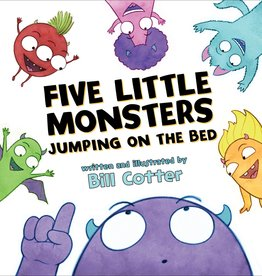 Sourcebooks Five Little Monsters Board Book