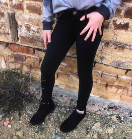 Cutie Patootie Stretch Pants in Black
