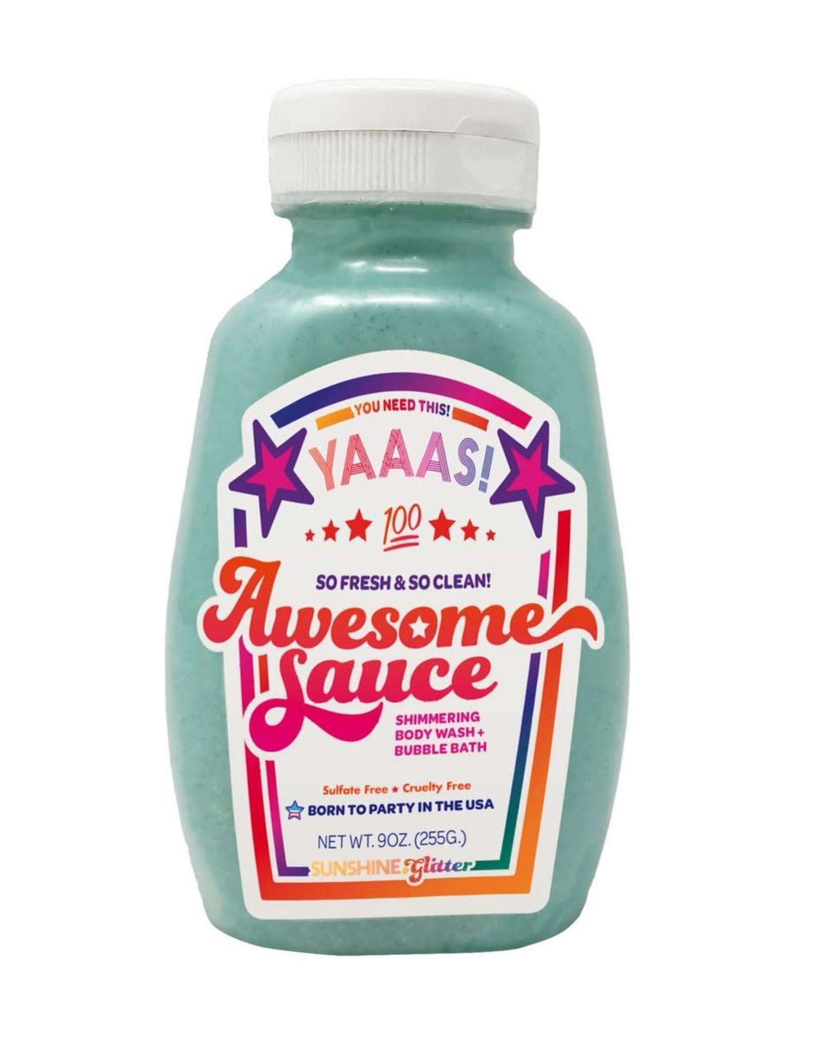 Sunshine & Glitter Awesome Sauce Bubble Bath and Body Wash