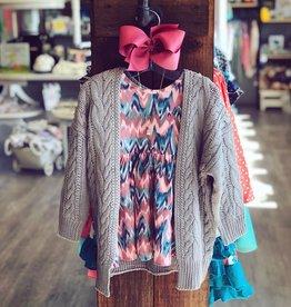 RuffleButts Watercolor Twirl Dress