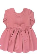 RuffleButts Mauve Twirl Dress