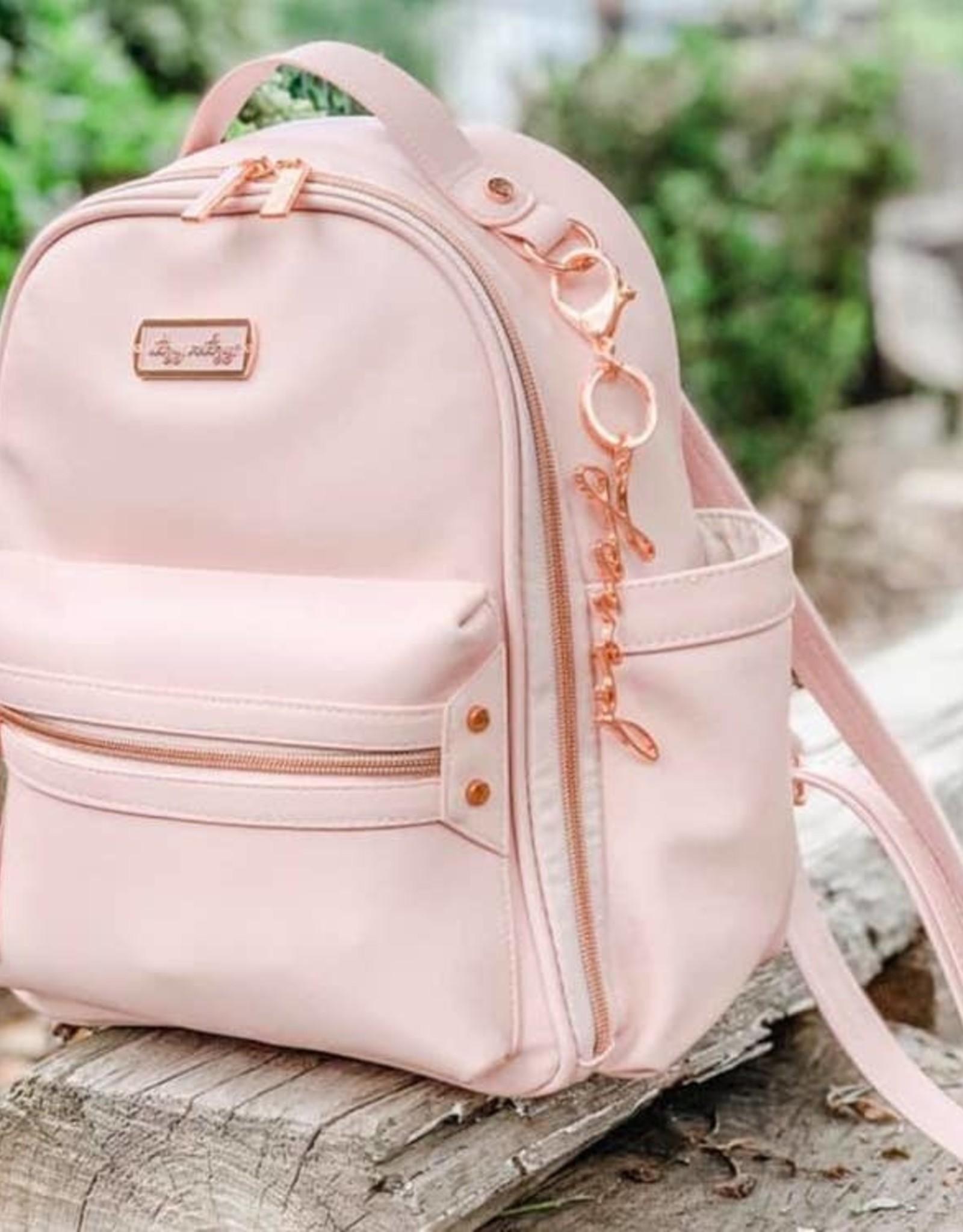 Itzy Ritzy Blush Itzy Mini Diaper Bag Backpack