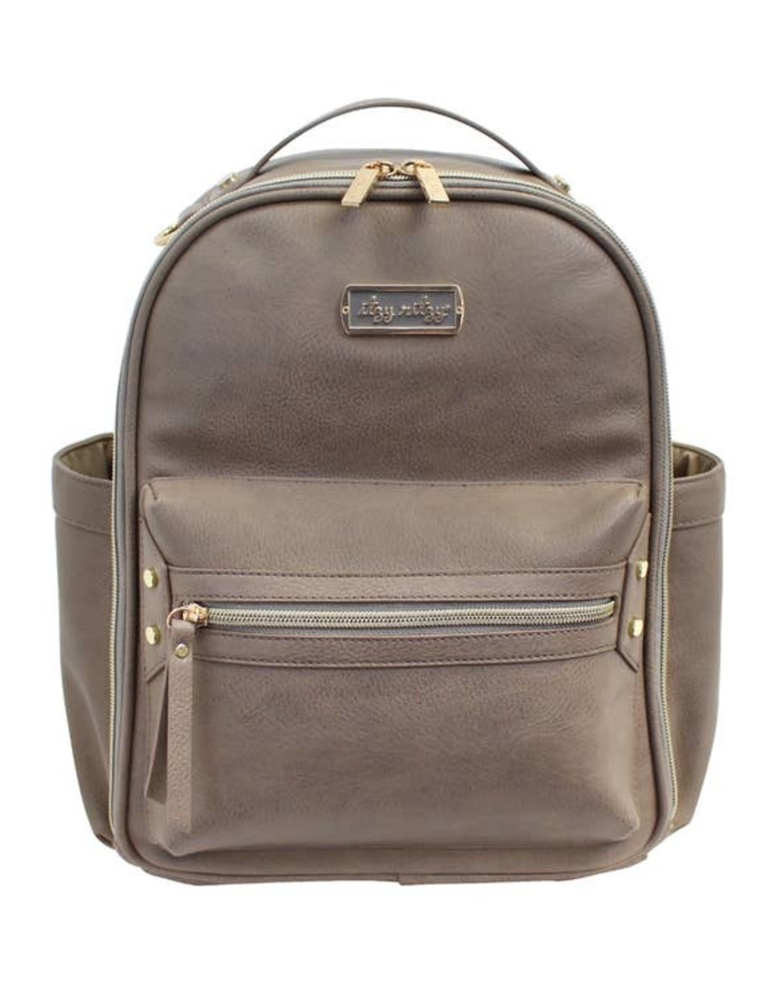 Itzy Ritzy Taupe Itzy Mini™ Diaper Bag Backpack