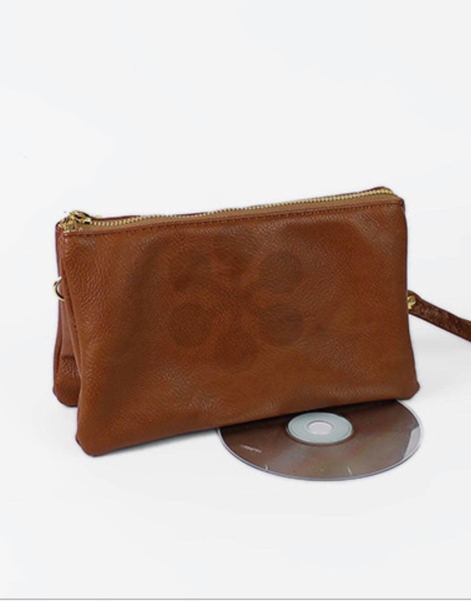 Leather CrossBody in Brown