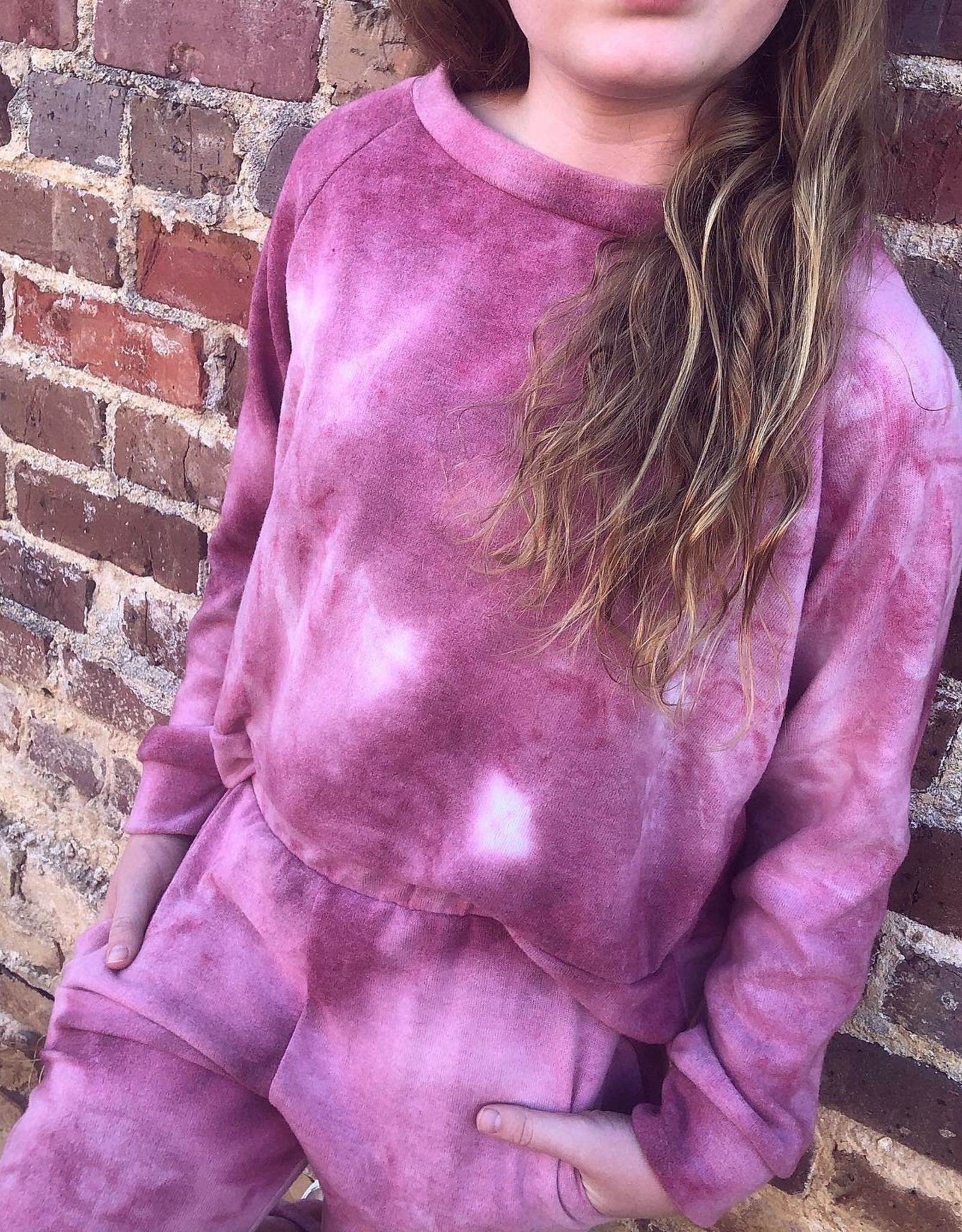 For All Seasons Pink TieDye Top