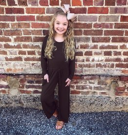 G to G Olive Jumpsuit