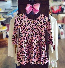 Honeydew Ana Pink Leopard Dress