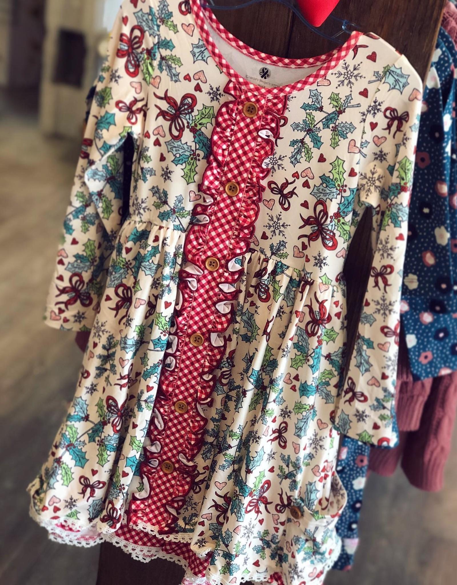 Charlies Project Vintage Christmas Hugs Dress