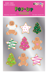 Holiday Cookie Pop-Up Sticker