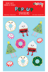 Iscream Holiday Sweets Pop-Up Sticker