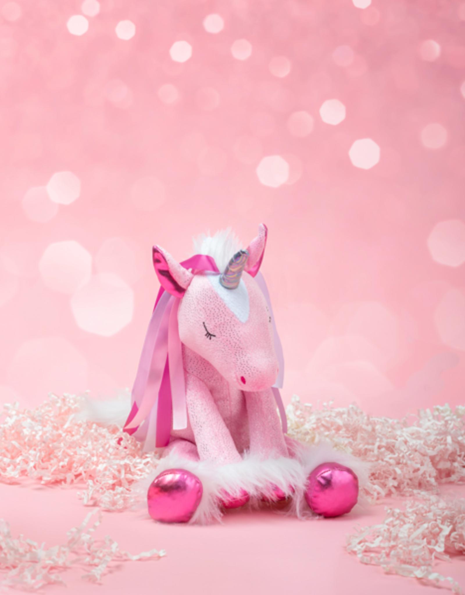 GANZ Lovie Ribbon Unicorn