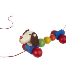 GANZ Wooden Puppy Pull Toy