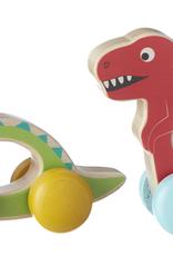 GANZ Wooden Dino Push Toy