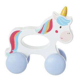 GANZ Wooden Unicorn Push Toy