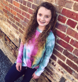 G to G TieDye Knot Top