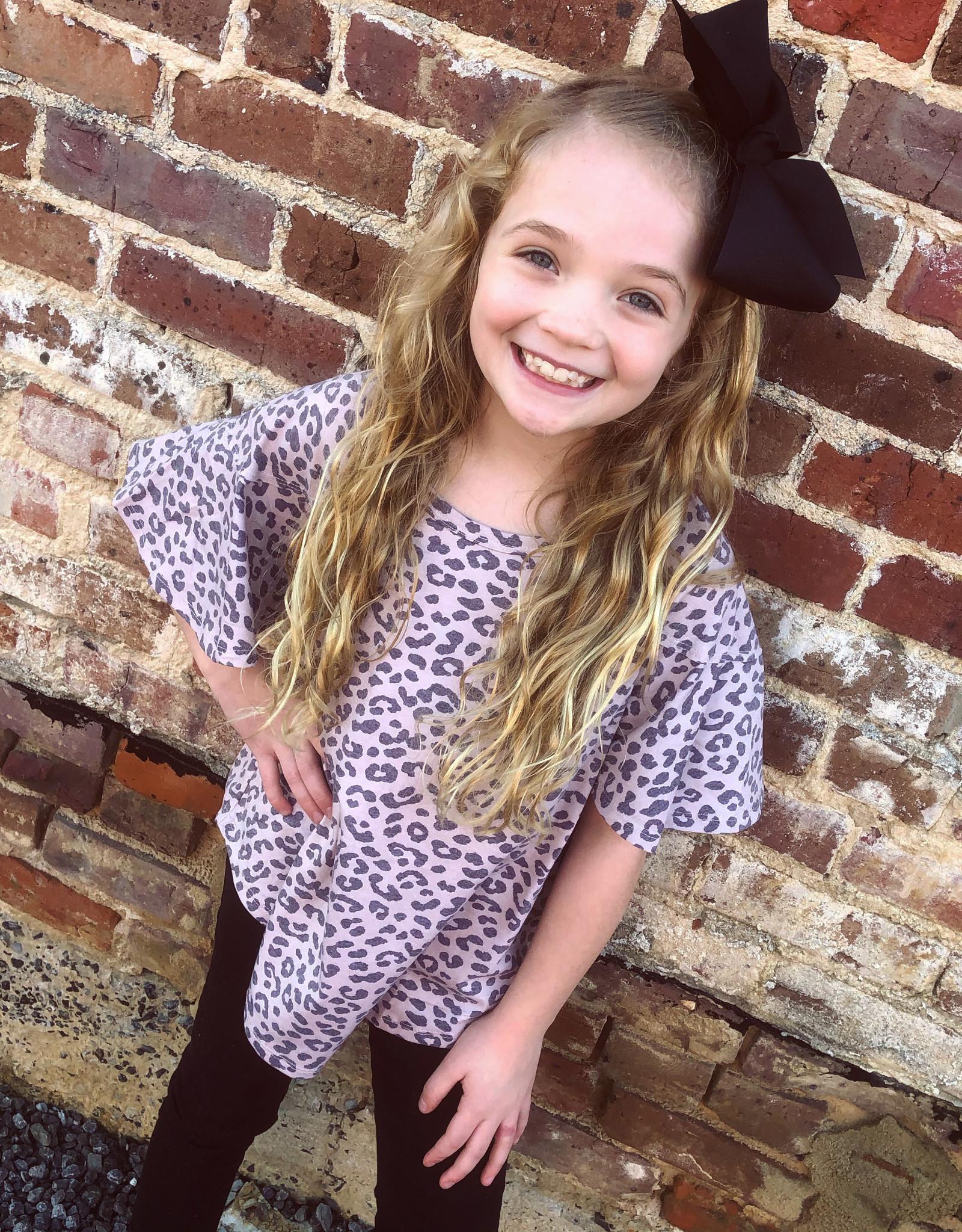 Hayden The Allie Leopard Top in Cream