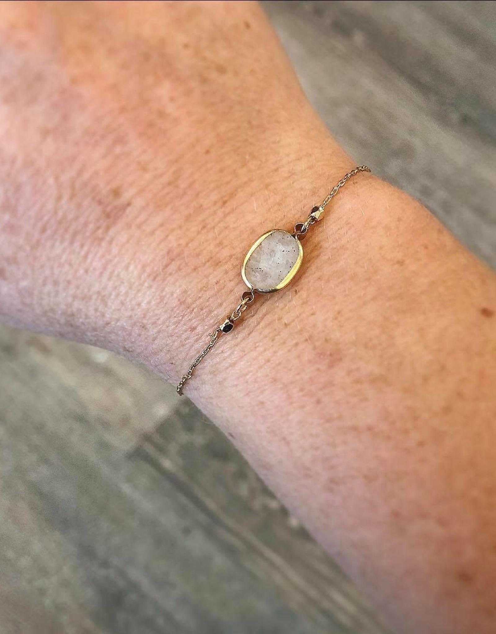 Taupe Stone Bracelet