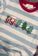 Honeydew Christmas Train Romper