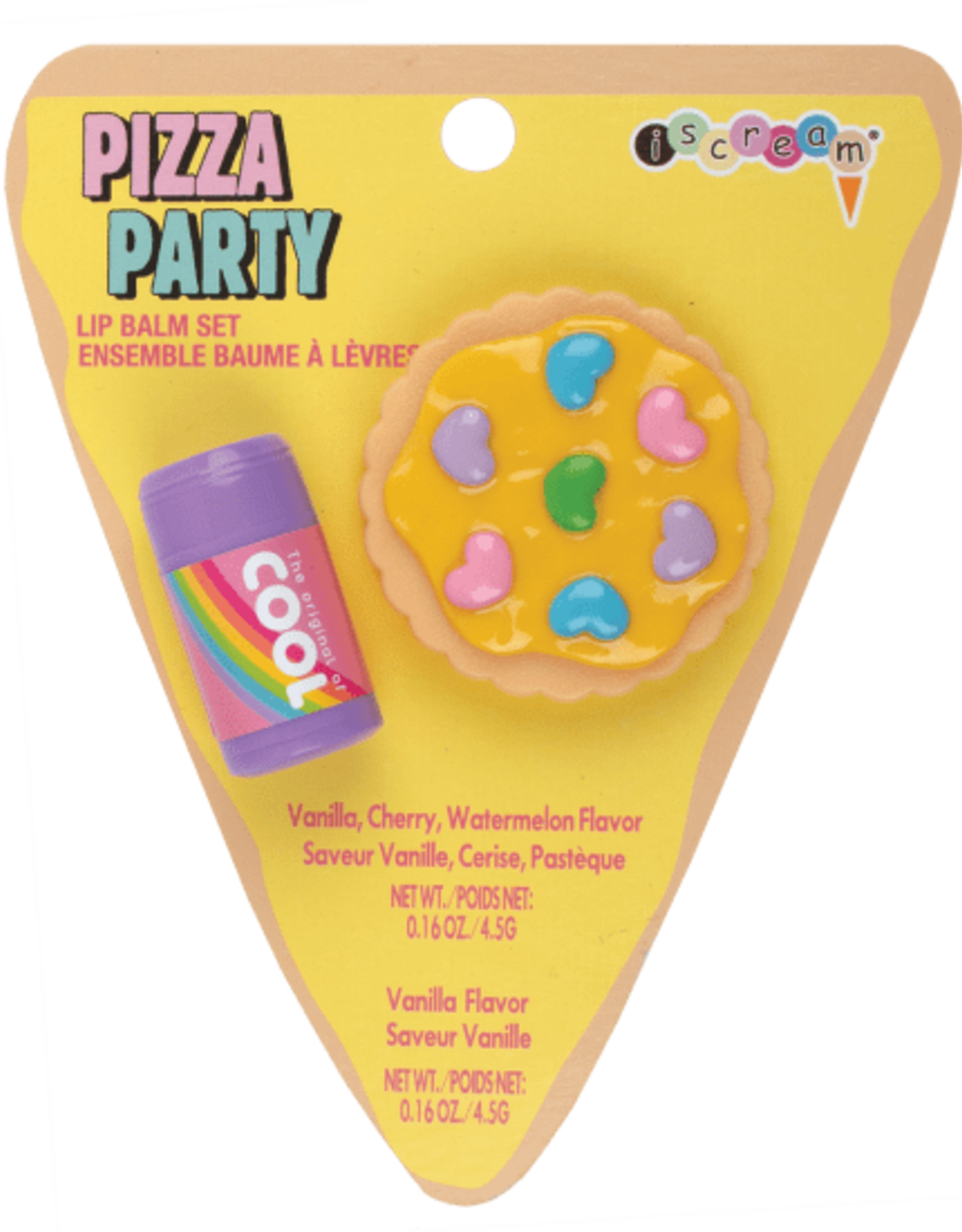 Iscream Pizza Party Lip Balm Set