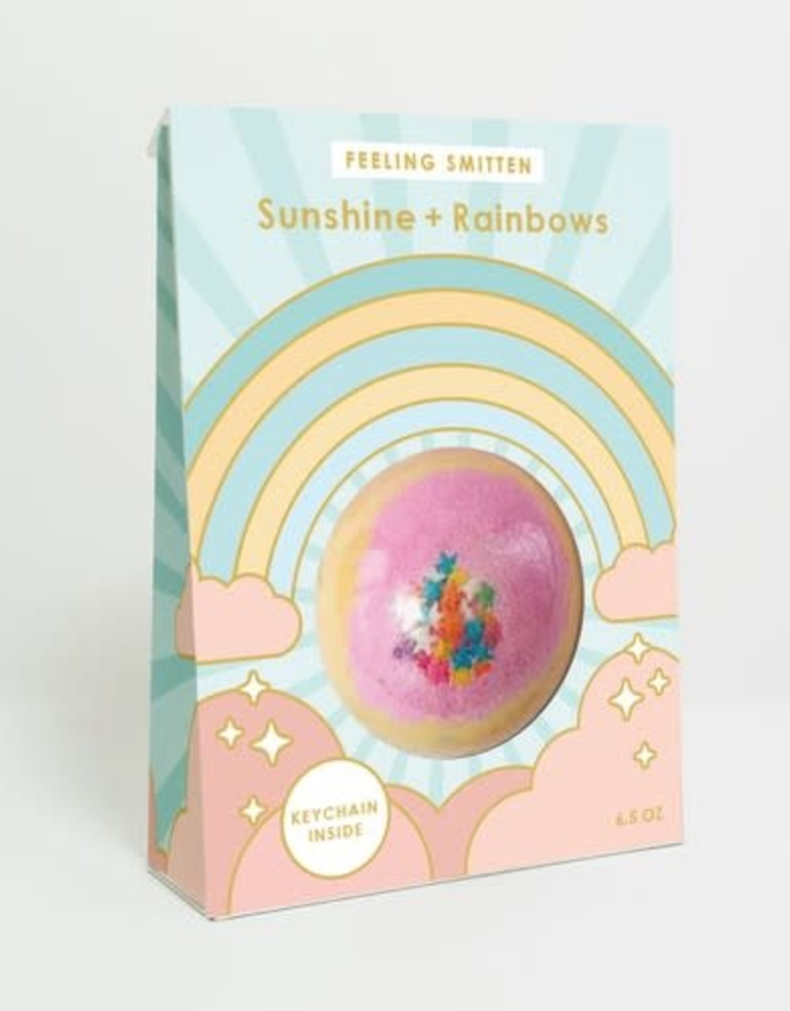 Feeling Smitten Sunshine + Rainbows Bath Bomb