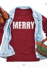 """Merry"" Christmas Longsleeve Tee"