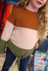 Hayden Waffle Knit Color Block Top
