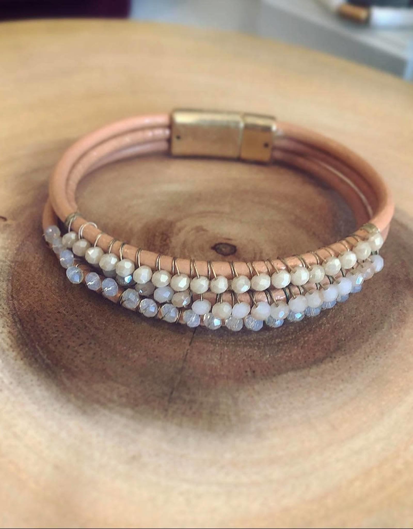 Wrap Bracelet in Natural