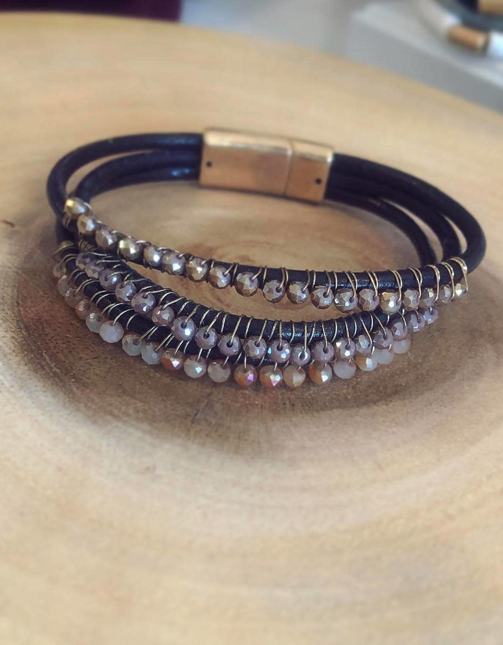 Wrap Bracelet in Brown