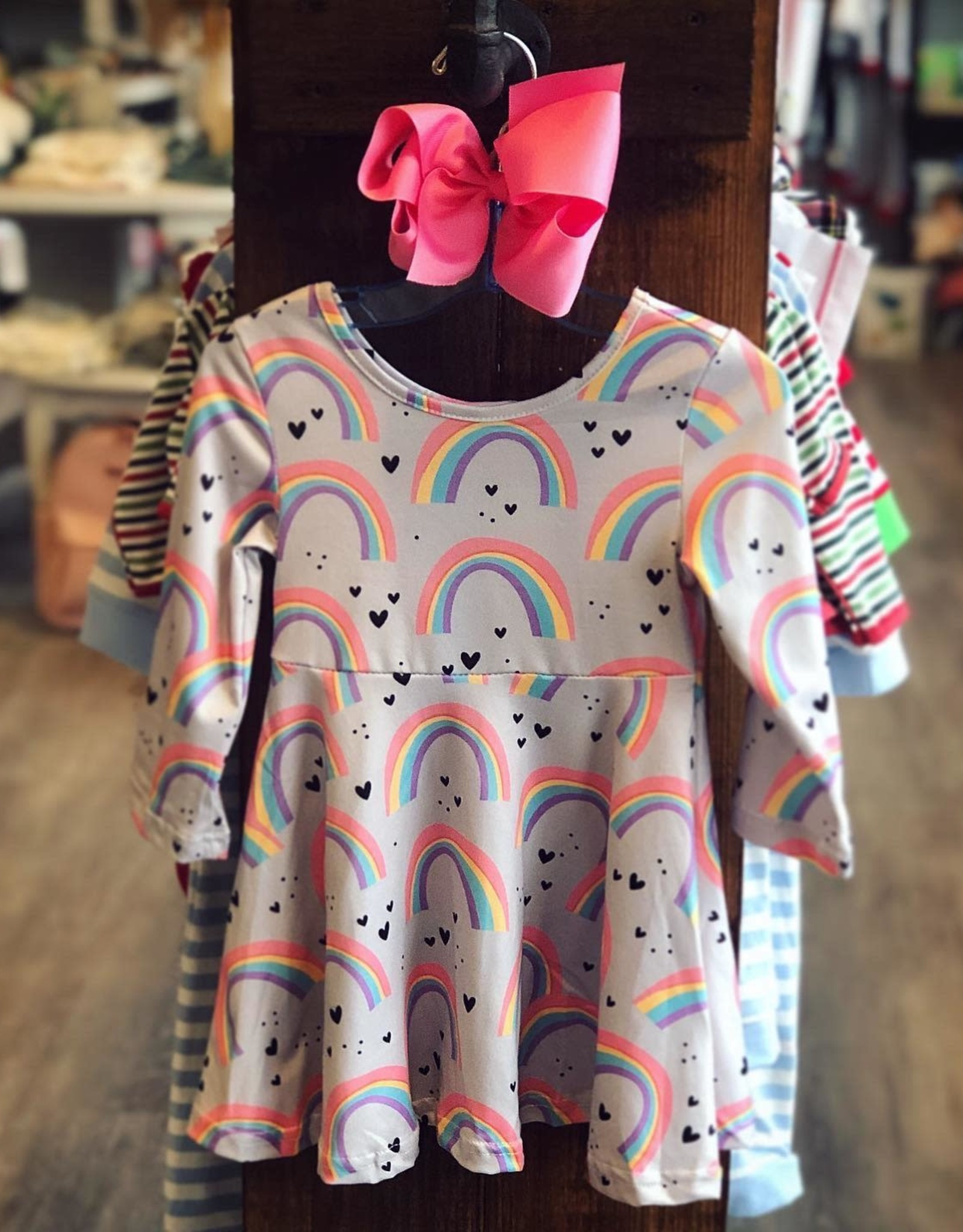 Honeydew Hadley Rainbow Dress