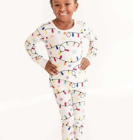 Charlies Project Christmas Lights Long Sleeve PJ Set