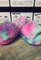 Fluffy Faux Fur Sandals