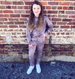 Hayden Sadie Leopard Jogger