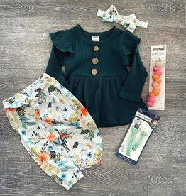 Honeydew Ella Green Floral Set