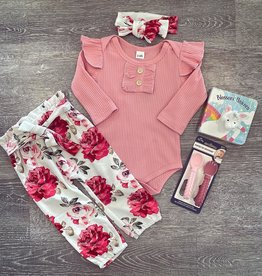 Honeydew Alice Pink Floral Set