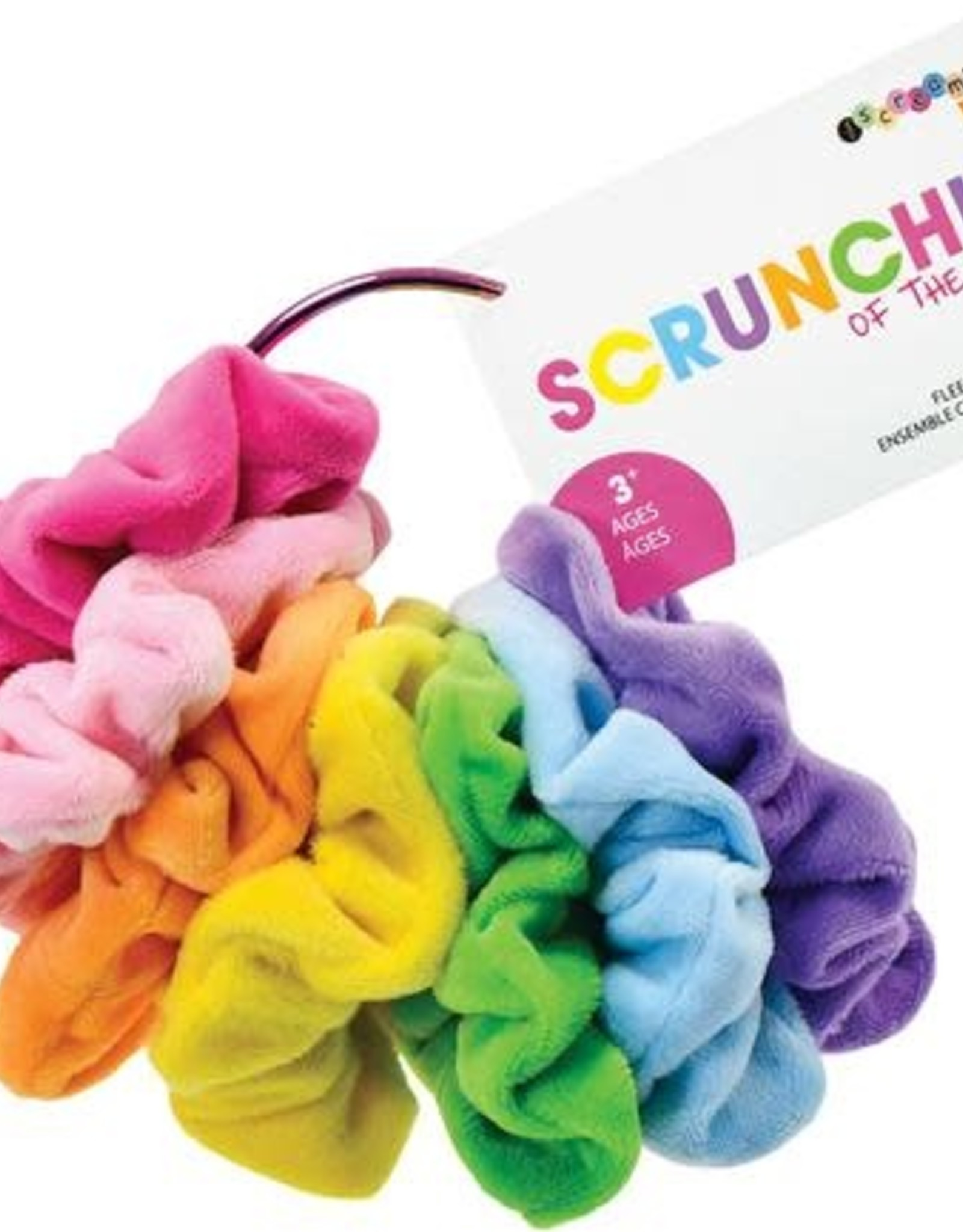 Iscream Days of the Week Scrunchie Set