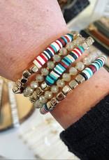 Kate Stretch Bracelet Set in Multi