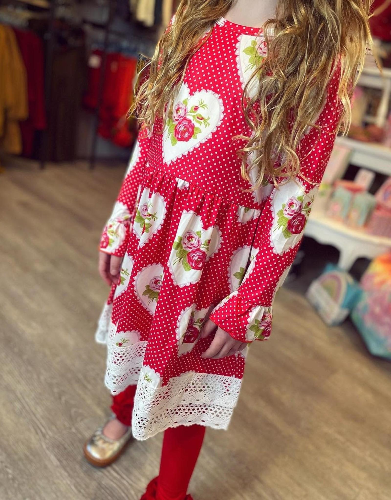 Lindsey Heart Dress