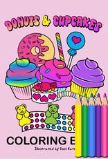 Kandi Designz Donuts and Cupcakes Mini Coloring Book