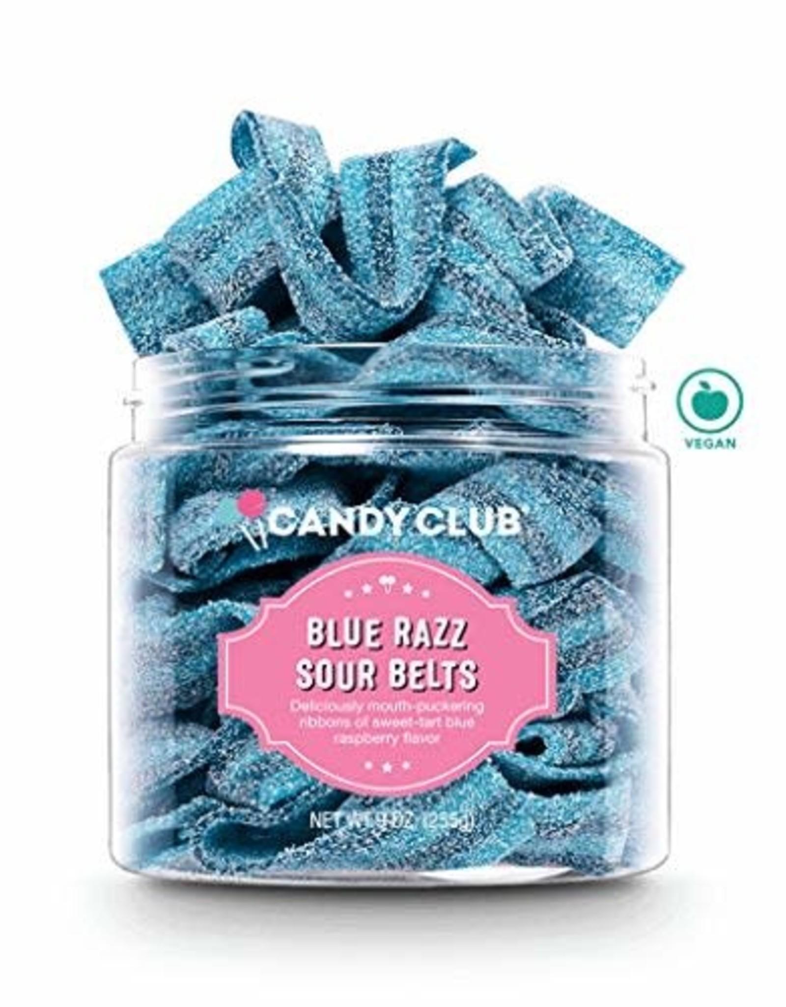 Candy Club Blue Razz Sour Belts