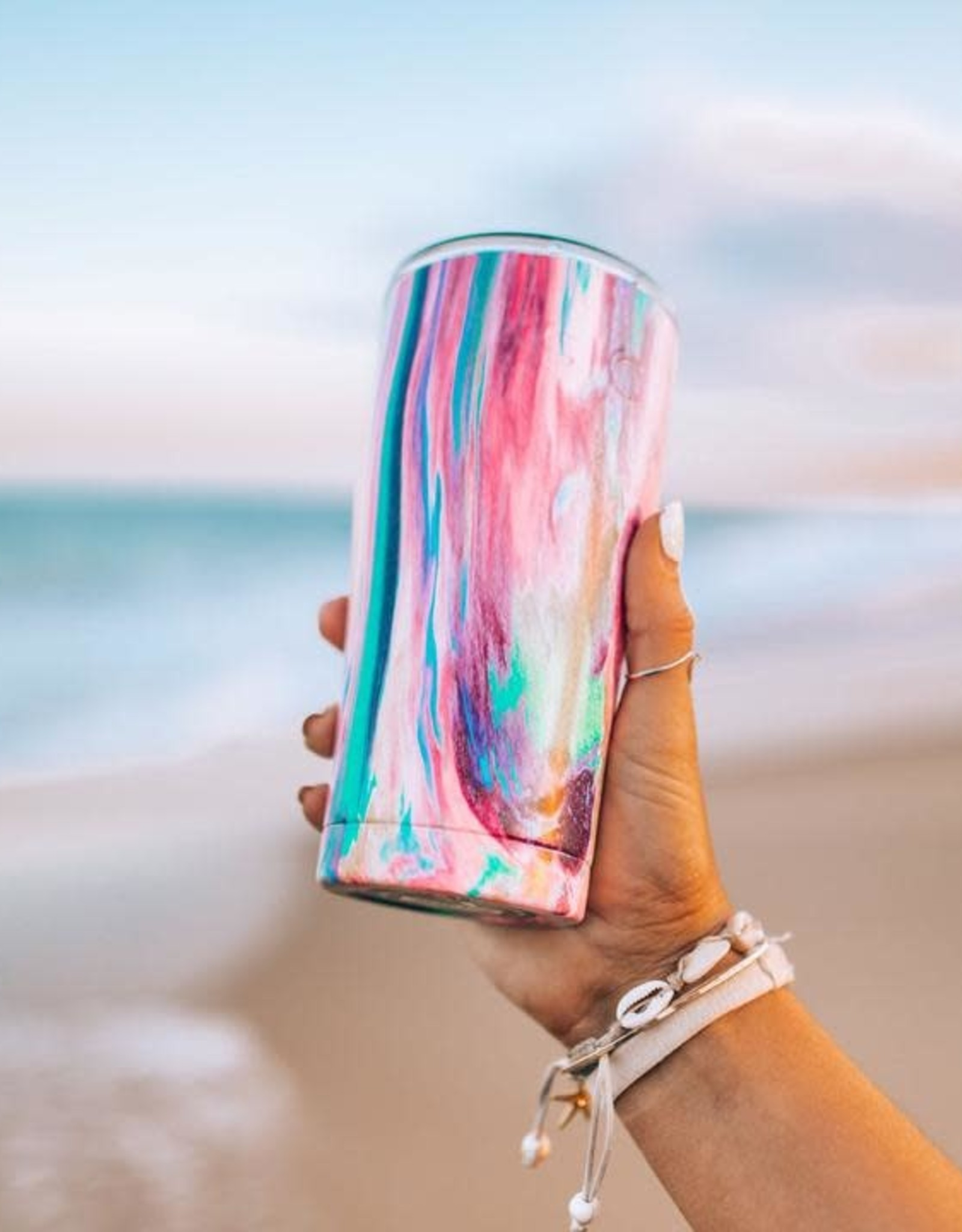 SIC 20 Oz. Cotton Candy Stainless Steel Tumbler