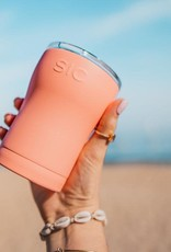 SIC 12 oz. Matte Coral stainless Steel Tumbler