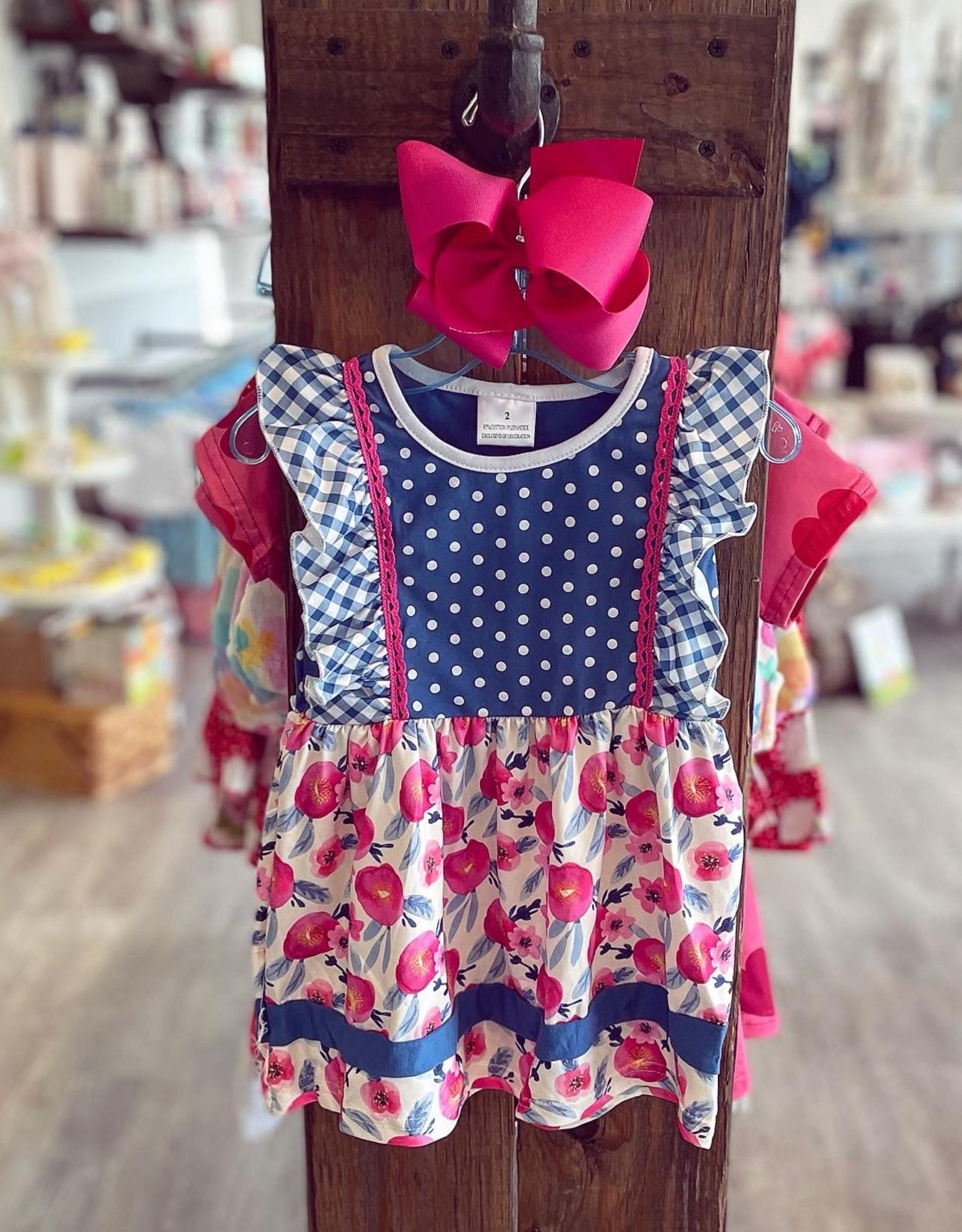 Honeydew Hannah Floral Dress
