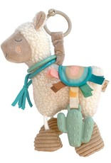 Itzy Ritzy Link & Love™ Llama Activity Plush Silicone Teether Toy