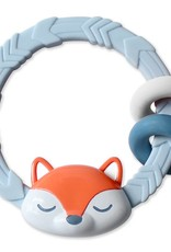 Itzy Ritzy Ritzy Rattle™ Silicone Teether Rattles  Fox
