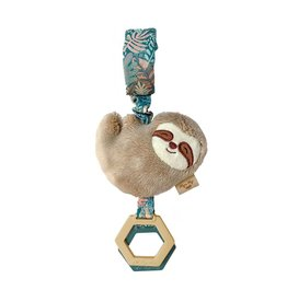 Itzy Ritzy Ritzy Jingle™ Sloth Attachable Travel Toy