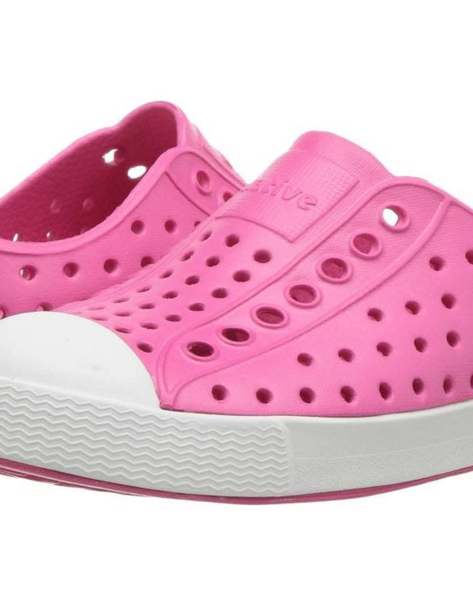 Native Shoes Jefferson in Hollywood Pink/Shell White