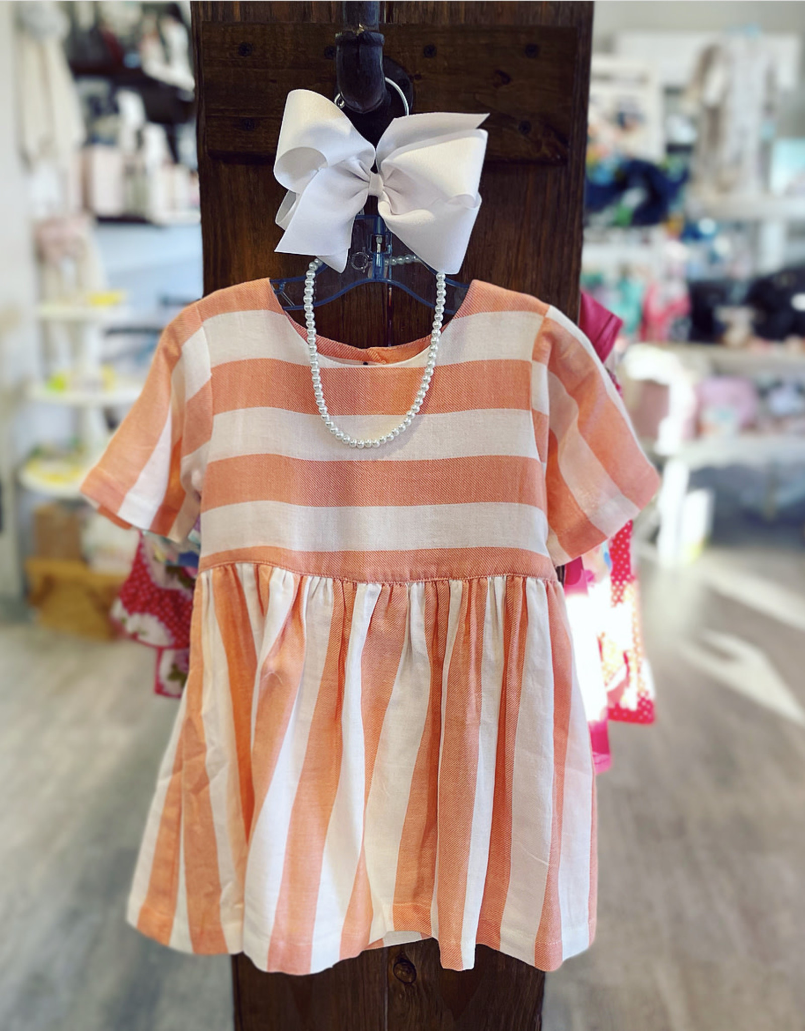 Ren & Rouge The Penny Button Dress